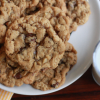 OATMEAL CHOCOLATE CHIP (OR RAISIN) COOKIES