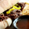 EASY SLOW COOKER (CROCKPOT) FRENCH DIP BEEF SANDWICHES