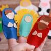 DIY NO SEW FELT NATIVITY FINGER PUPPETS WITH THE CRICUT MAKER