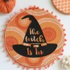 HALLOWEEN WITCH HAT DECOR WITH THE CRICUT MAKER