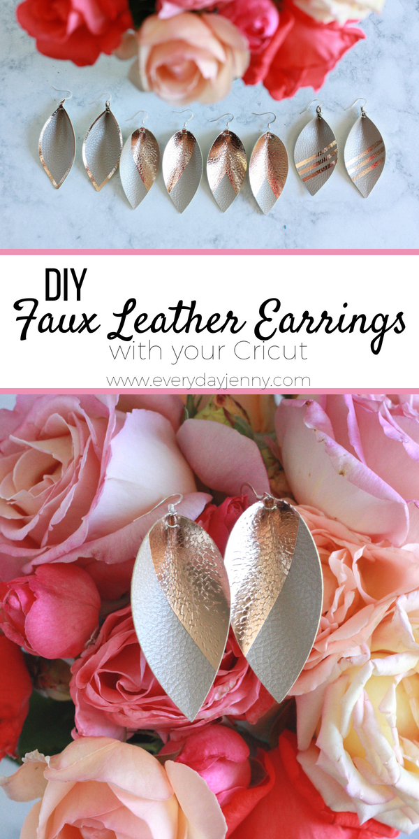 5ecdbf301 DIY FAUX LEATHER EARRINGS WITH CRICUT IRON-ON | EVERYDAY JENNY