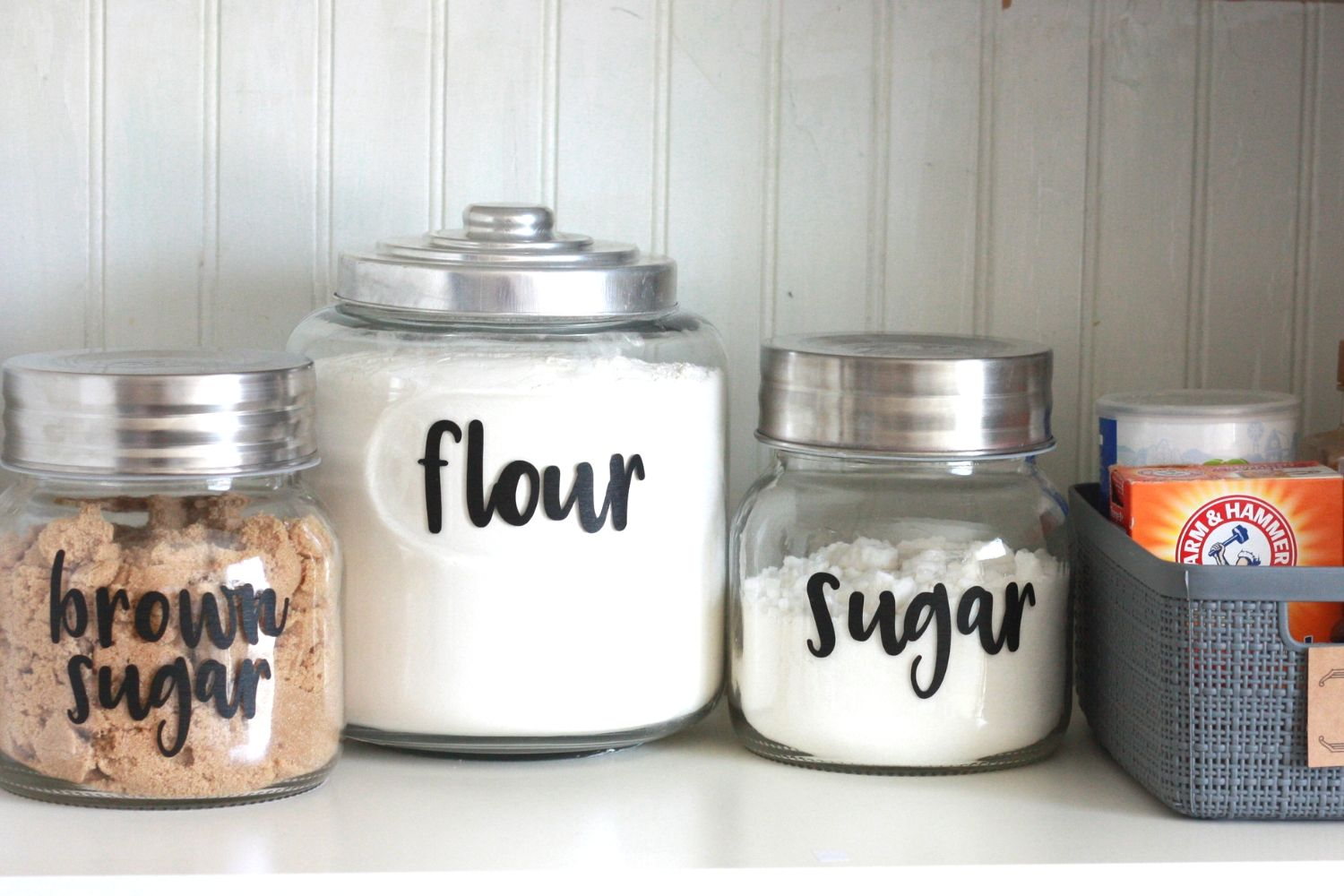 Easy Diy Pantry Labels With Your Cricut Everyday Jenny